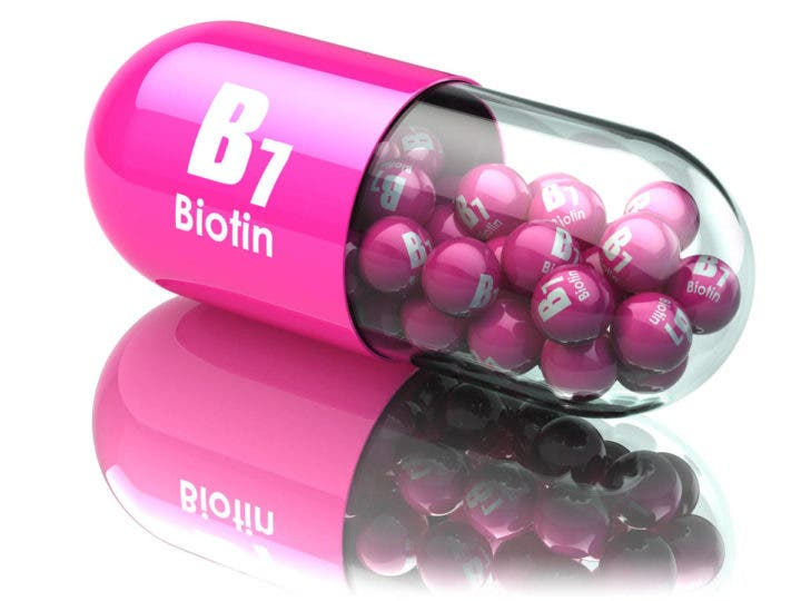 "La biotina es una vitamina perteneciente al grupo ""B"""