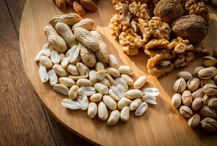 Beneficios de los cacahuetes para la salud