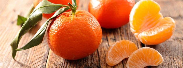 Los beneficios de las clementinas