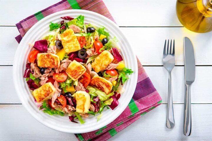 La mejor ensalada mediterránea para perder peso