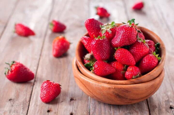 En una dieta cetogénica puedes comer fresas