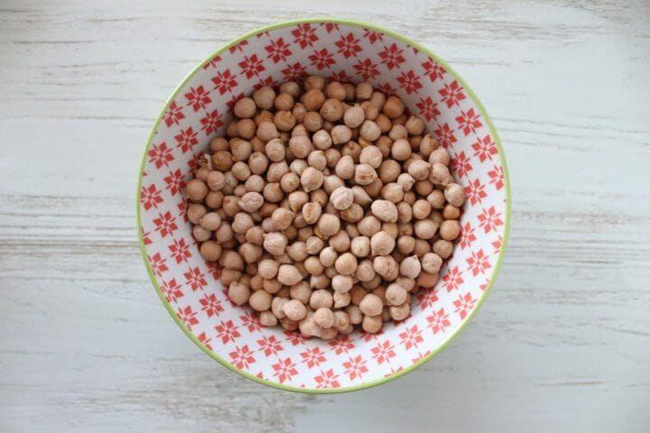 Los garbanzos son ricos en fibra, proteínas y ácido fólico