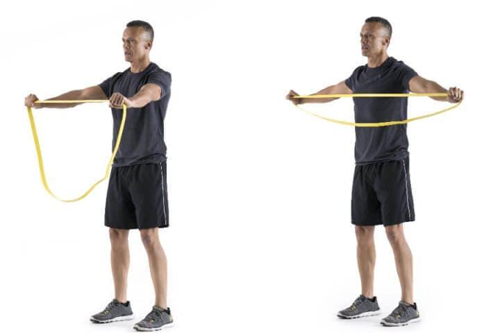Ejercicios para personas con problemas de movilidad de hombro