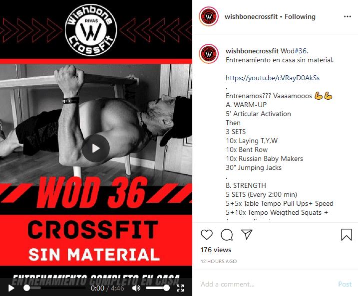 CrossFit sin material