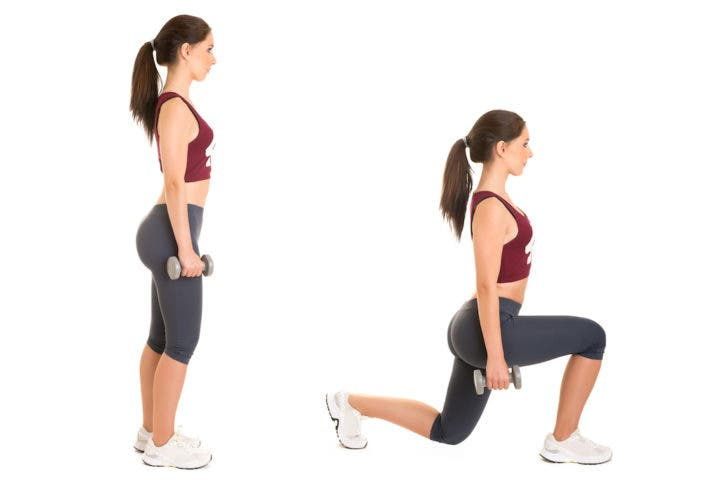 Añade los lunge a tu entrenamiento HIIT