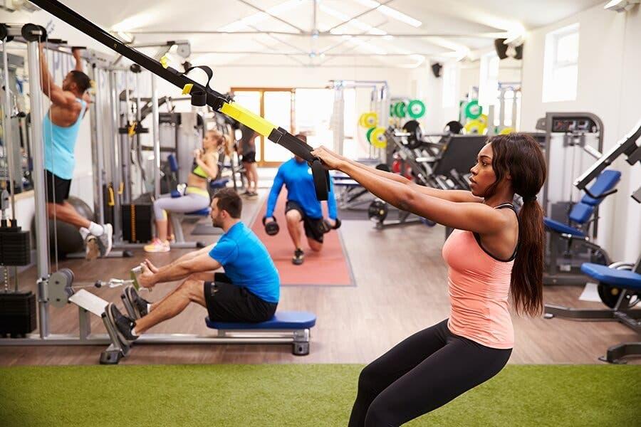 El entrenamiento con TRX desarrolla fuerza, equilibrio y flexibilidad