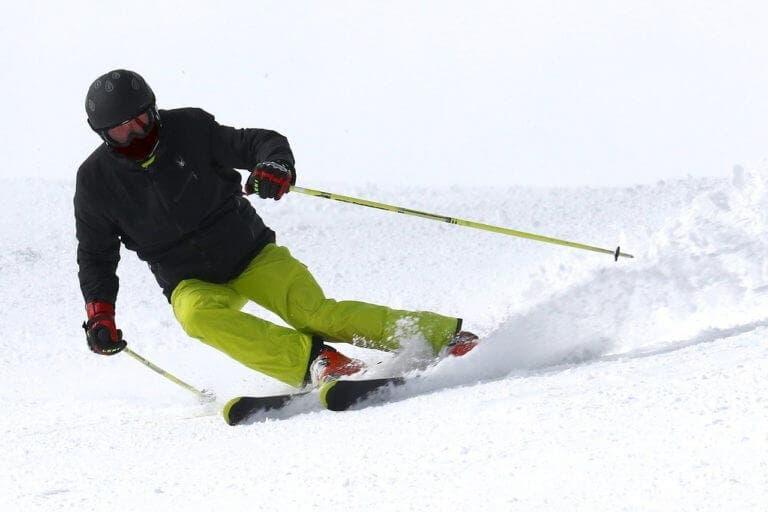 material para esquiar