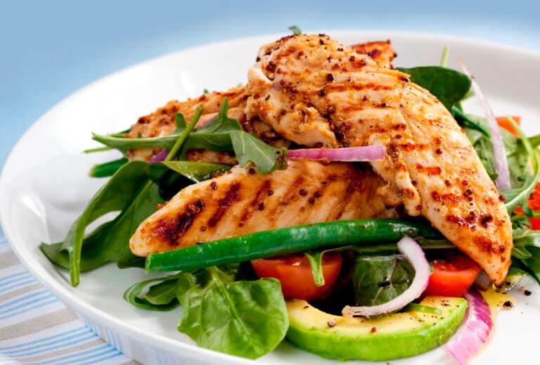 5 recetas de pollo con verduras riquísimas
