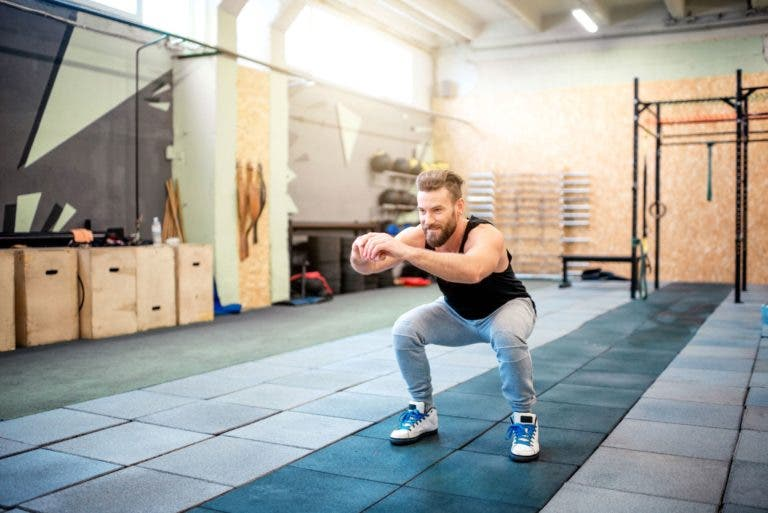 Rutina AMRAP de CrossFit casera