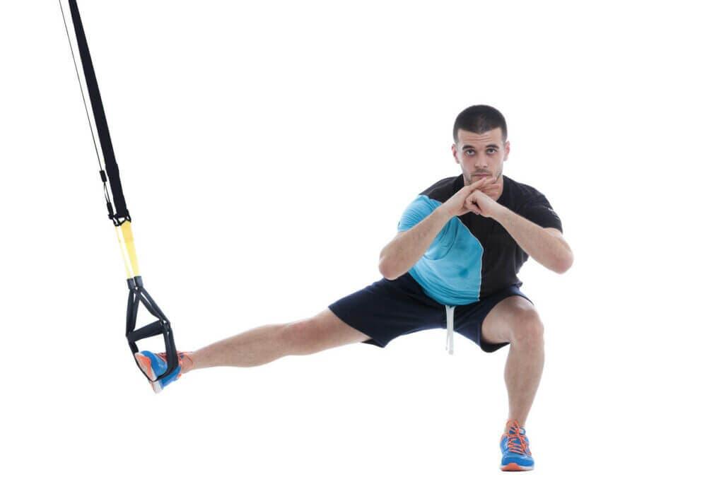 8 ejercicios sencillos en TRX