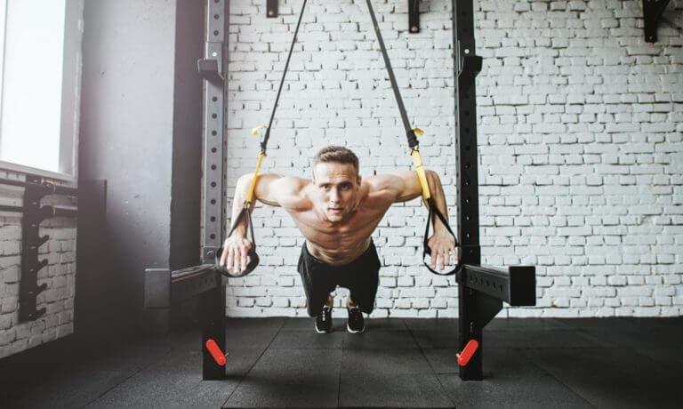 Ejercicios de TRX para fortalecer las piernas