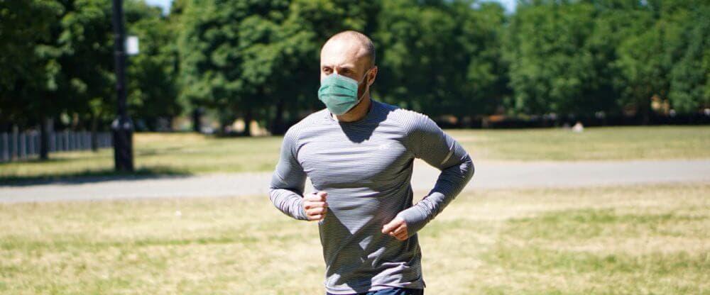 correr tomando medidas coronavirus