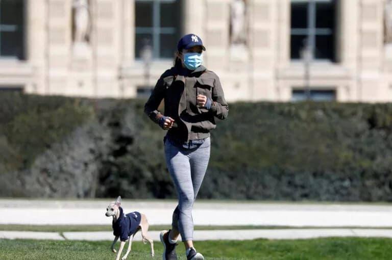 Como protegerse del coronavirus si vas a correr en la calle