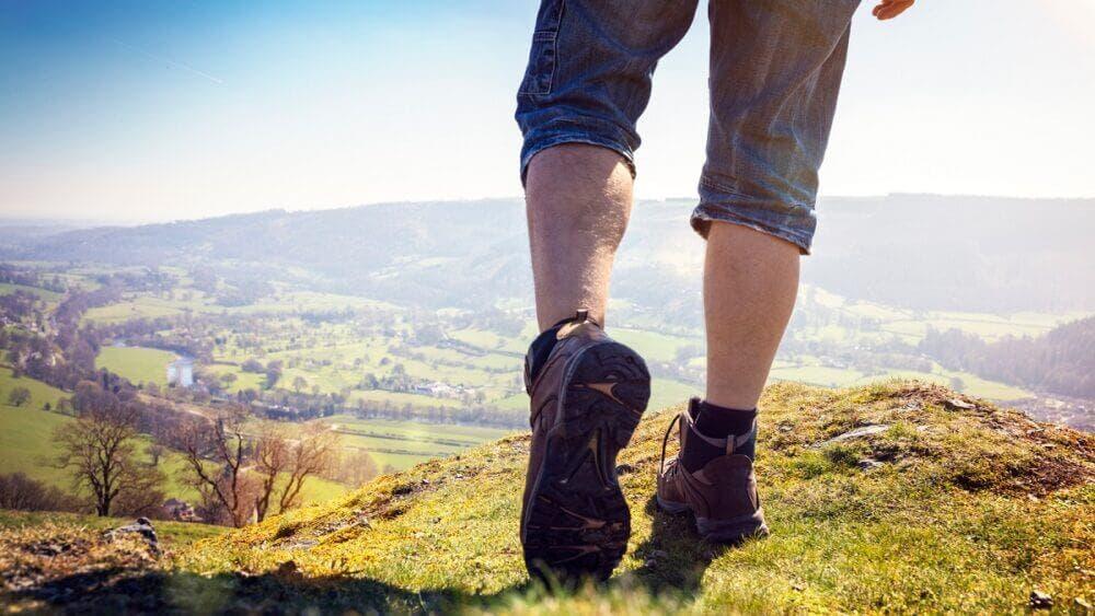 Las caminatas son el mejor método para mejorar la circulación