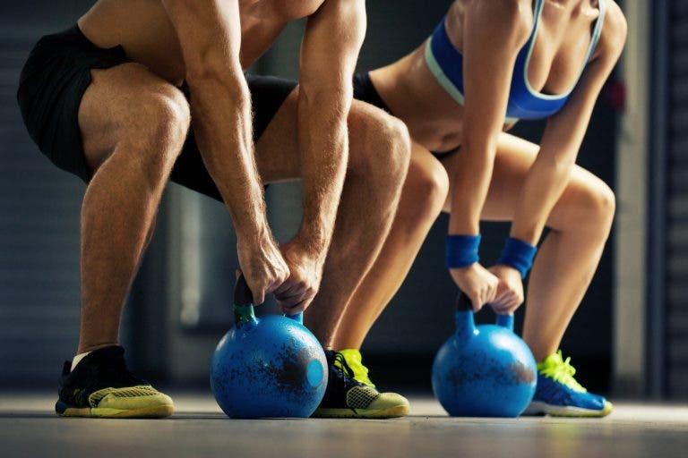Rutina de entrenamiento con kettlebells para tus glúteos