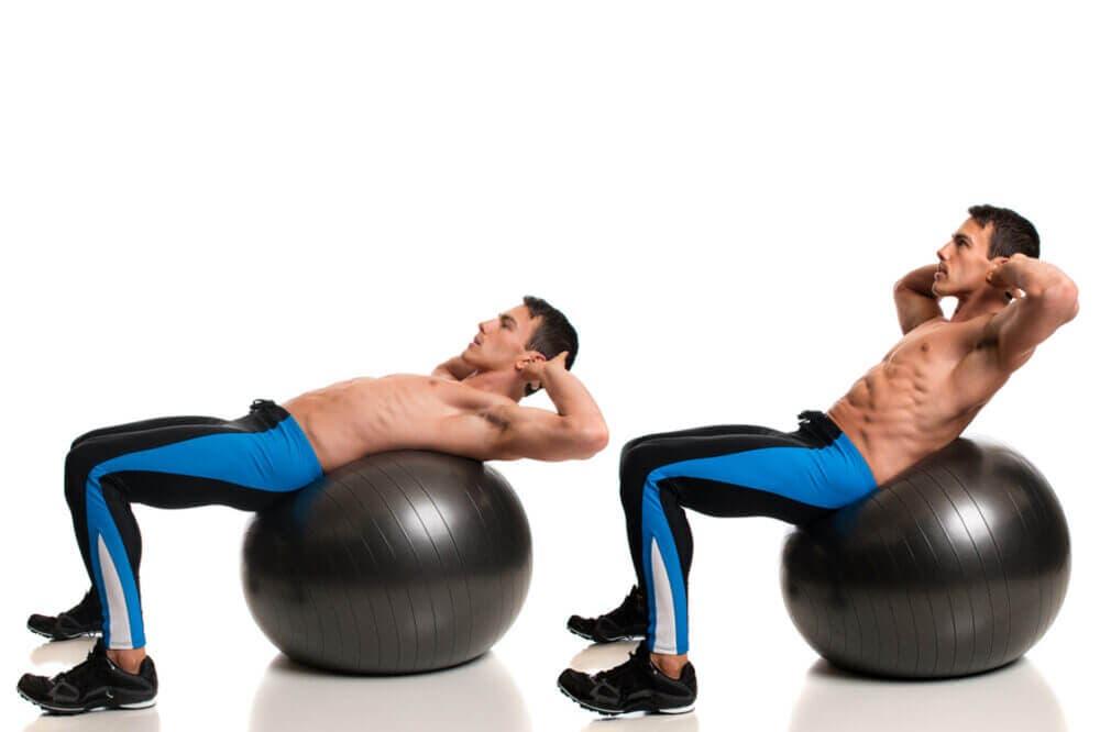 Como hacer abdominales correctamente
