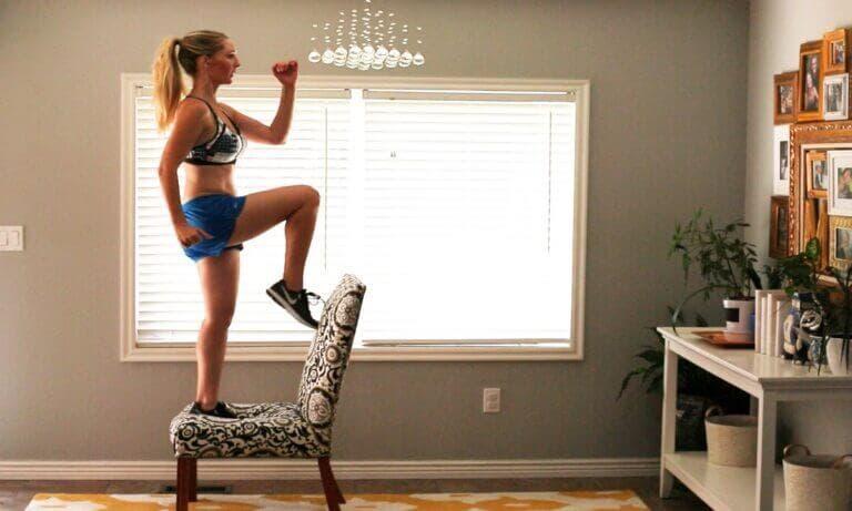ejercicios casa sillas