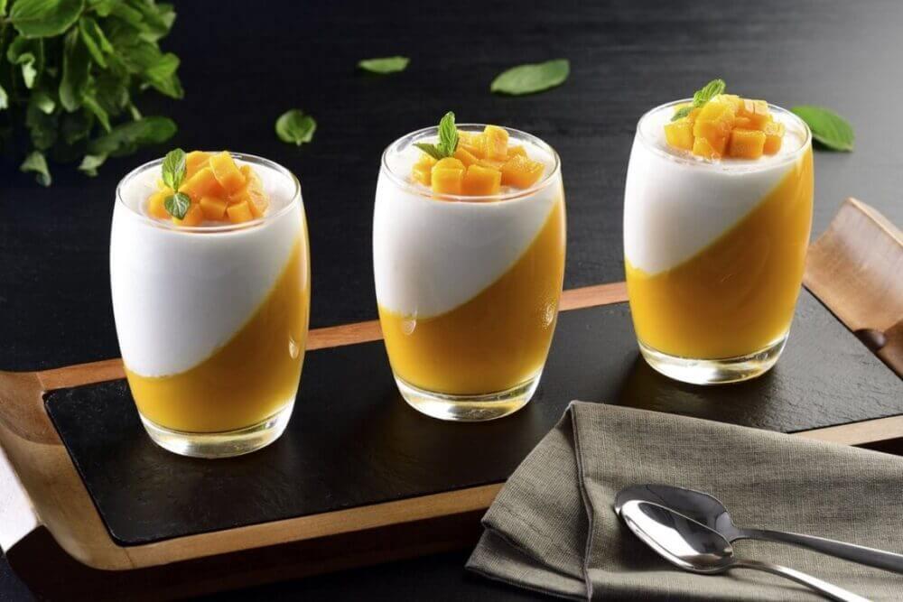 ¿Como hacer helado cremoso saludable y sabroso con mango?