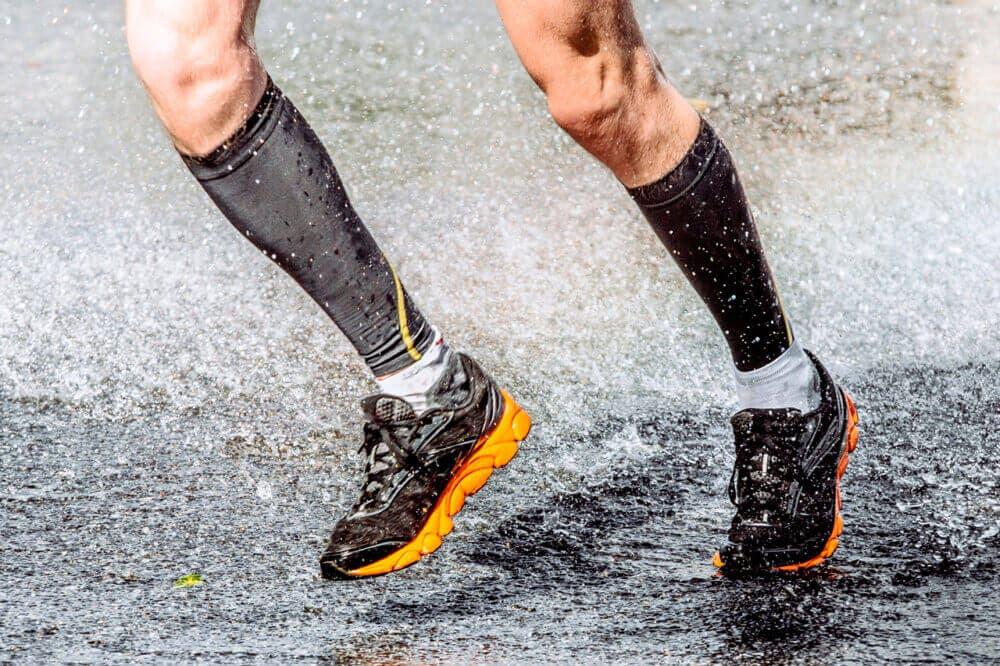 Uso e higiene de los calcetines de comprensión