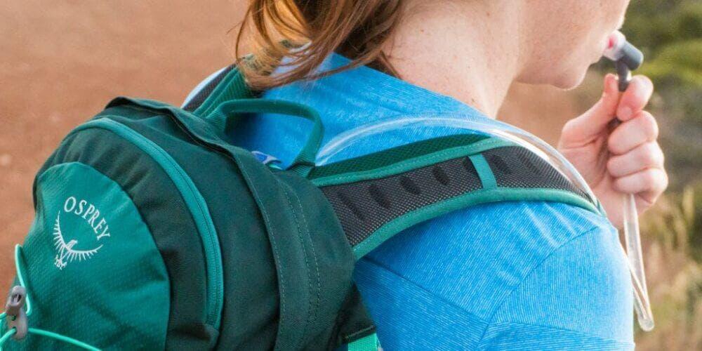 Las mochilas de hidratación son muy útiles en el ciclismo de montaña