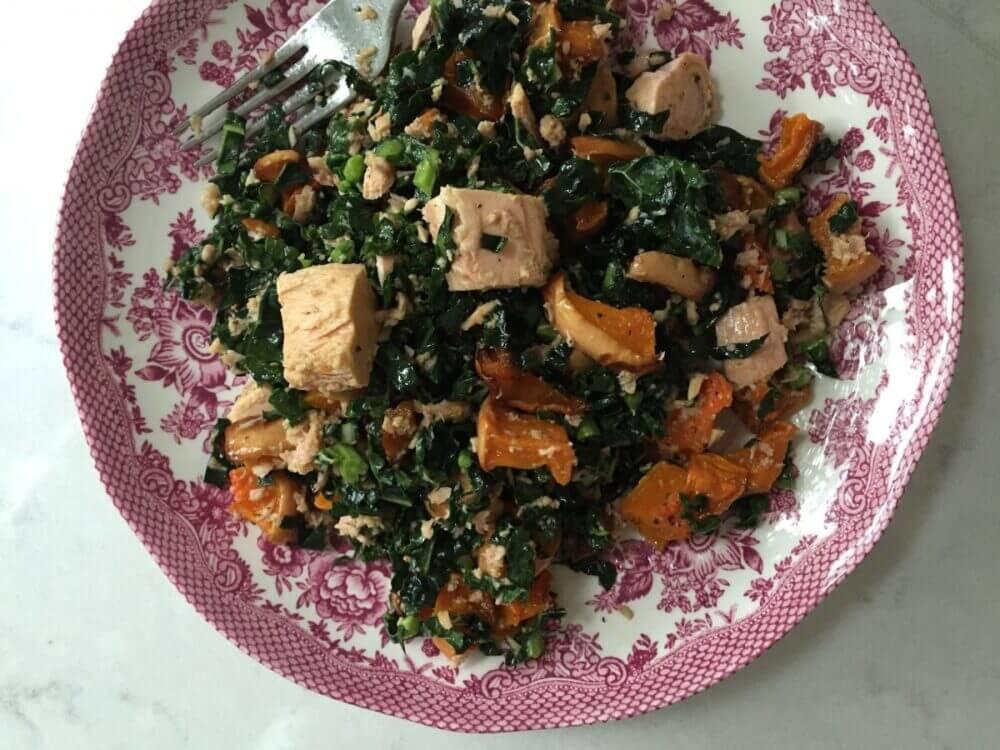 recetas de ensalada con atún y verduras