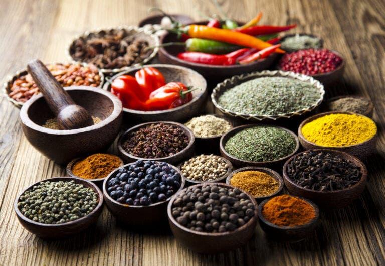 Alimentos para dieta termogénica
