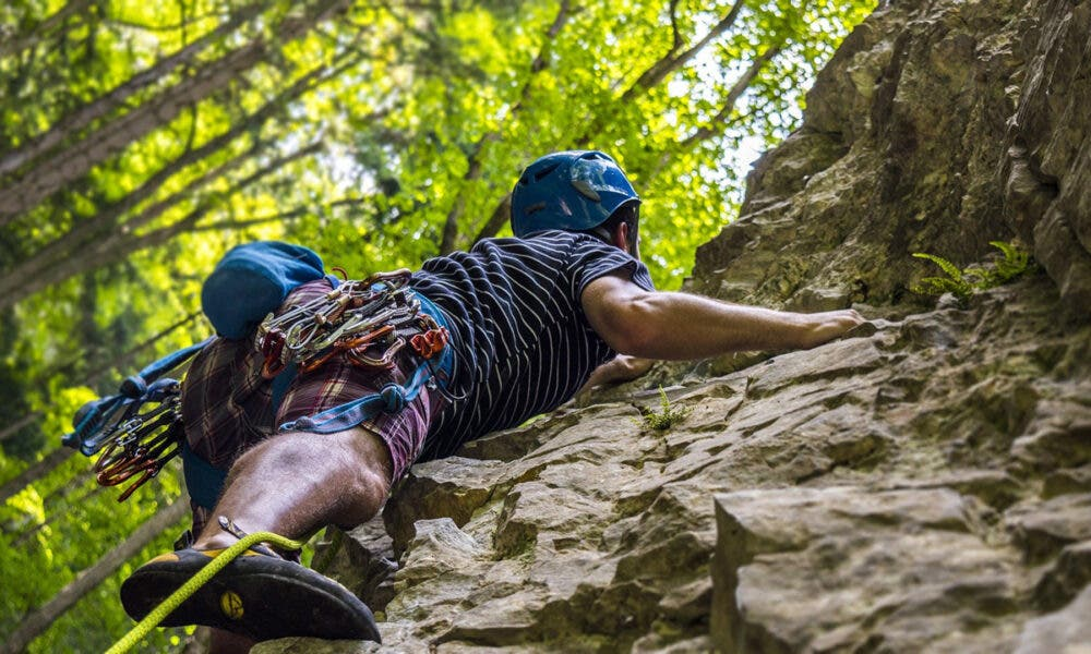 Ejercita tus extremidades para mejorar tu rendimiento en escalada