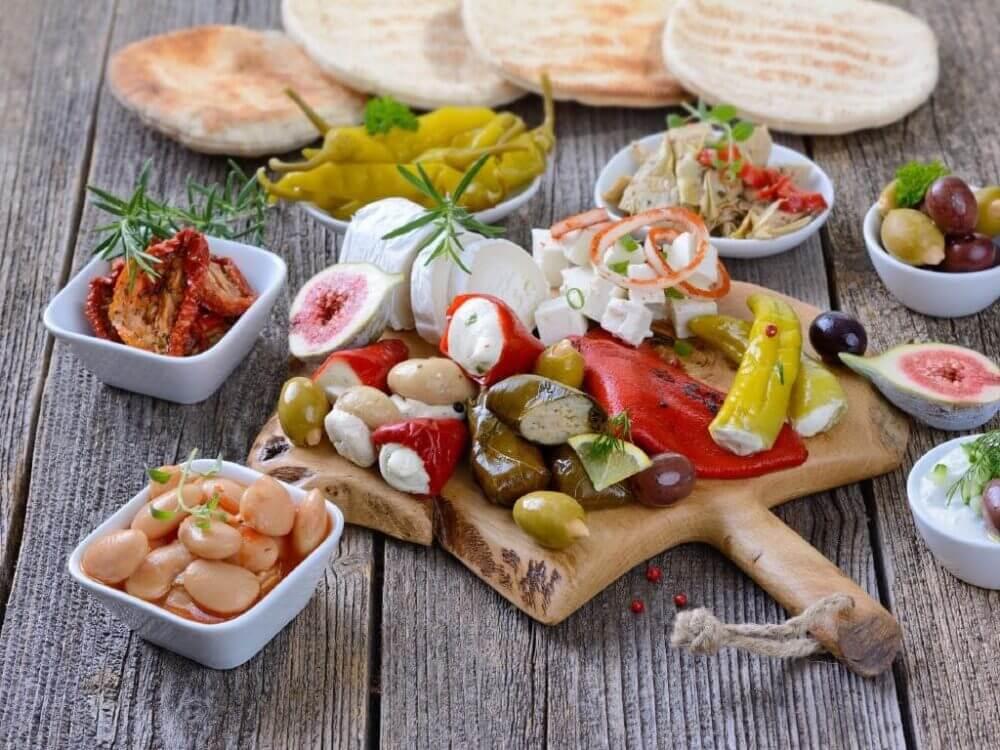 Alimentos de la dieta Ikaria