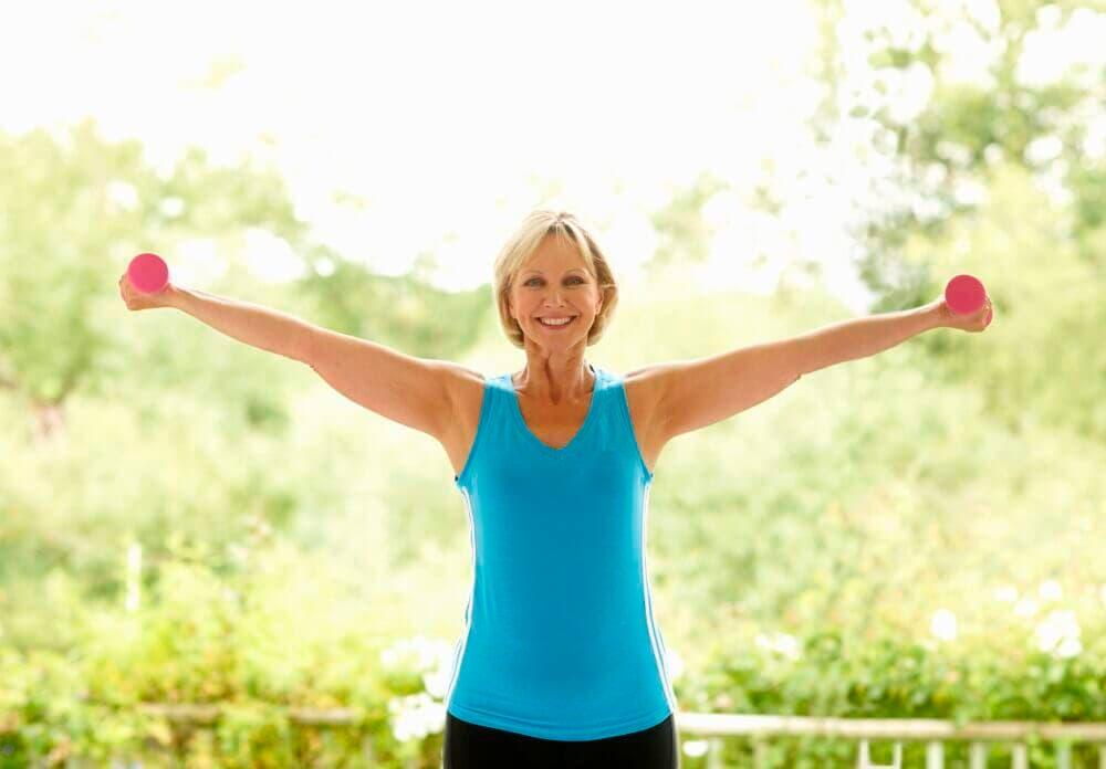Hacer ejercicio y osteoporosis