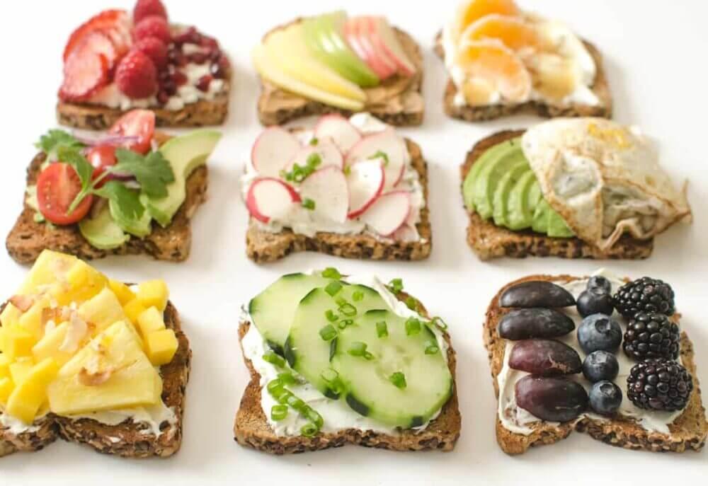 Recetas saludables y rápidas de tostadas