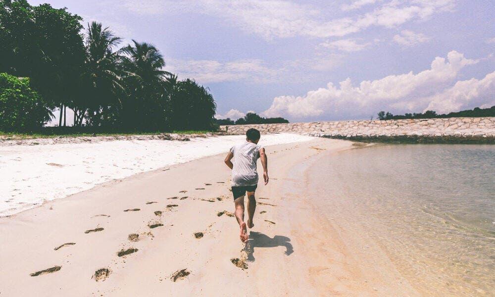 Entrena descalzo y mejora en tus tiempos de entrenamiento