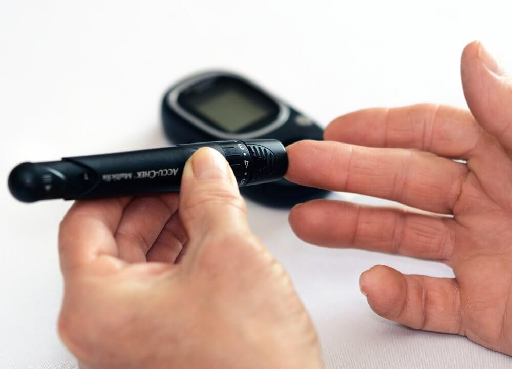control glucosa para la alimentación de un diabético antes y después de hacer ejercicio