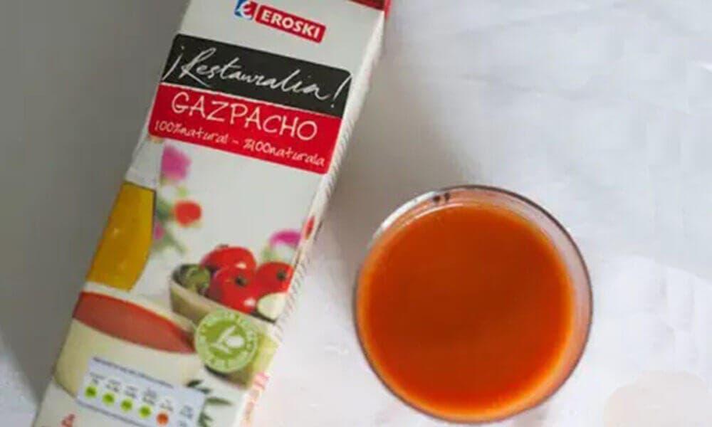 Gazpacho elaborado por Eroski