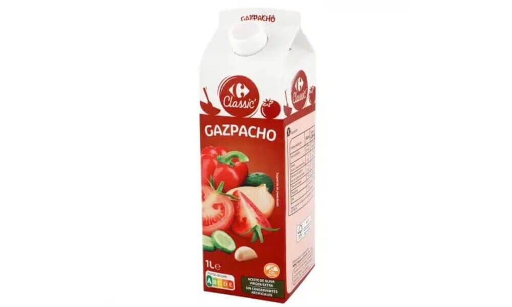 Gazpacho elaborado por Carrefour
