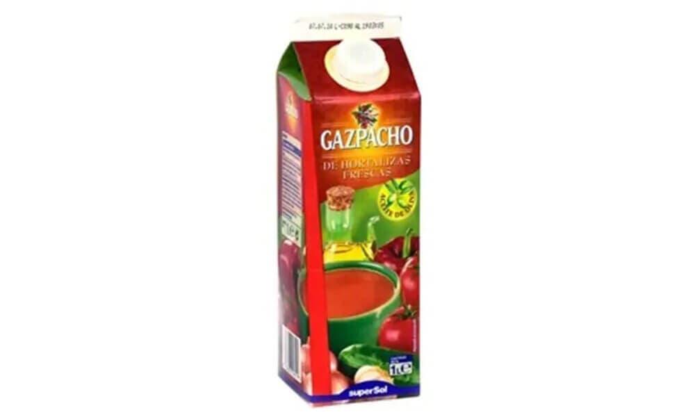 Gazpacho elaborado por Supersol