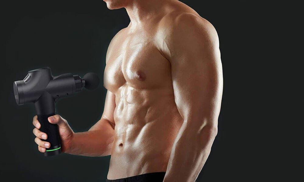Formas de uso de la pistola de masaje