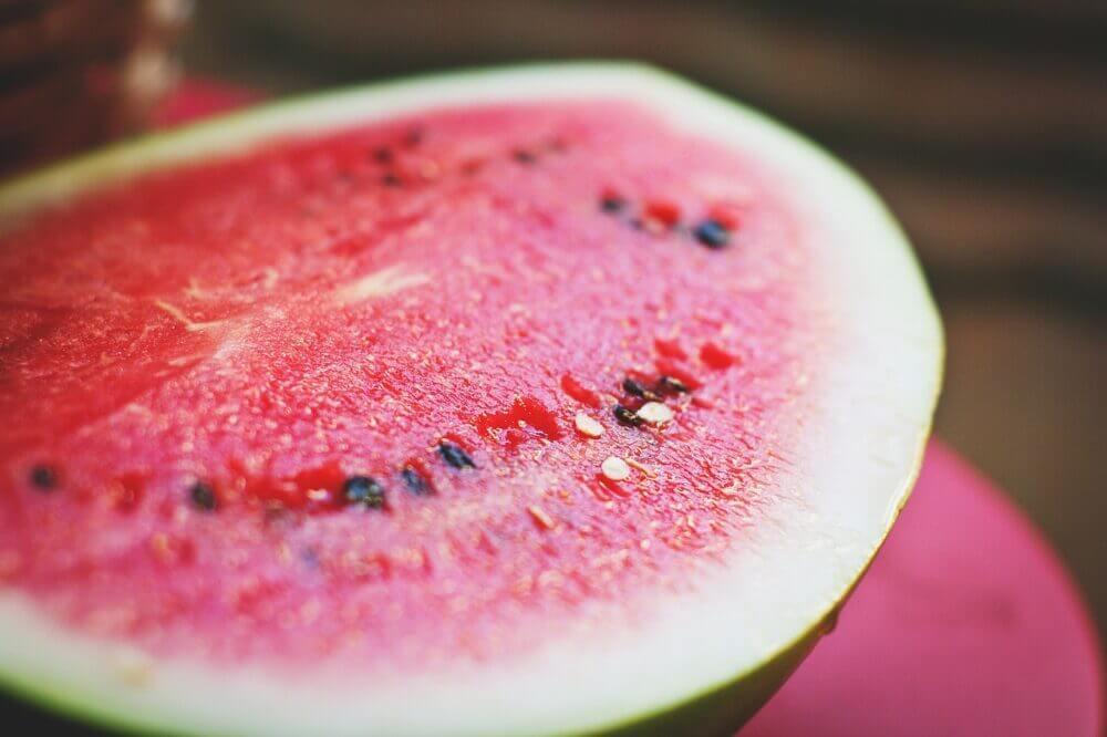 melón vs sandía