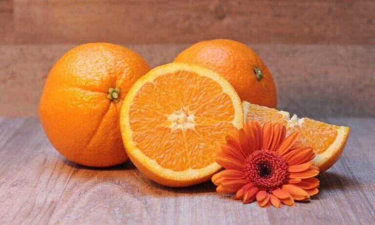 fruta con vitamina importante
