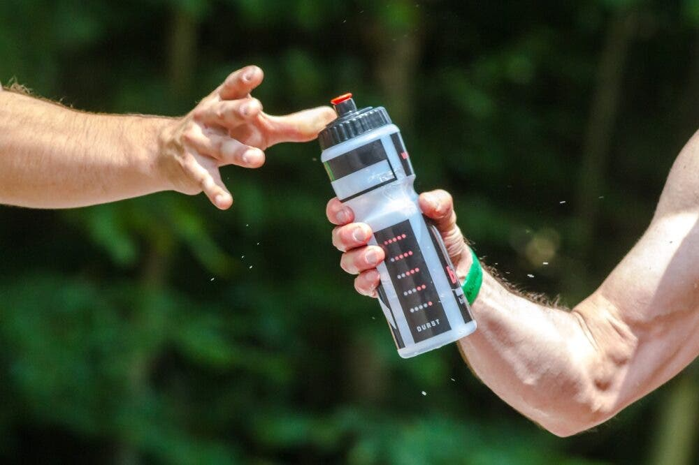 Botella para llevar agua
