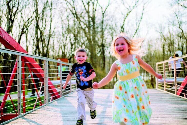 A qué edad debe empezar a correr un niño
