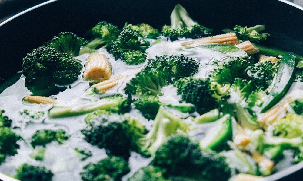 Receta de sopa de queso cheddar y brócoli