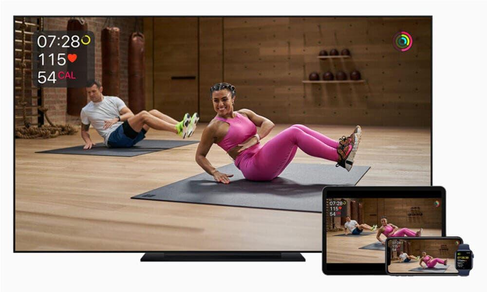 Características del servicio de entrenamiento online de compatible con dispositivos Apple