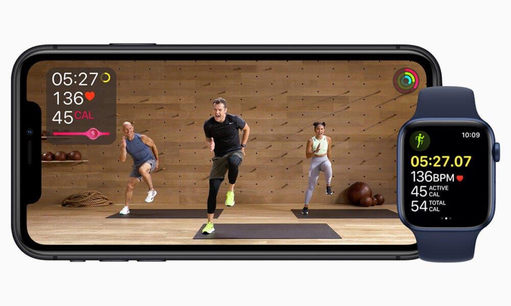 Beneficios que ofrece el servicio de Apple Fitness+