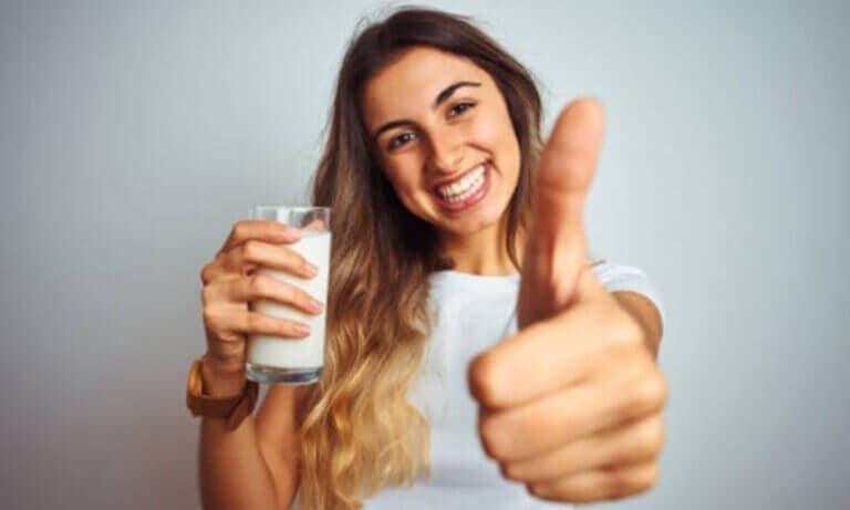 Beneficios de consumir caseinato de calcio