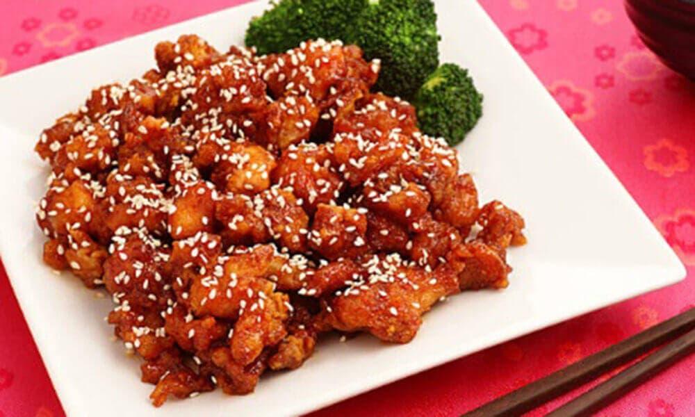 Sesame Chicken recet