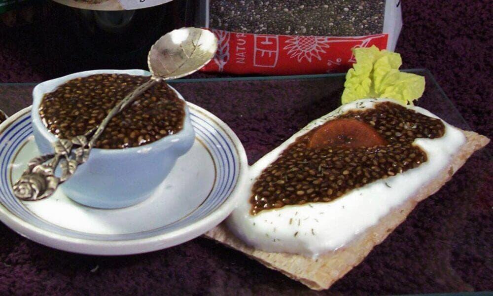 Caviar de chía