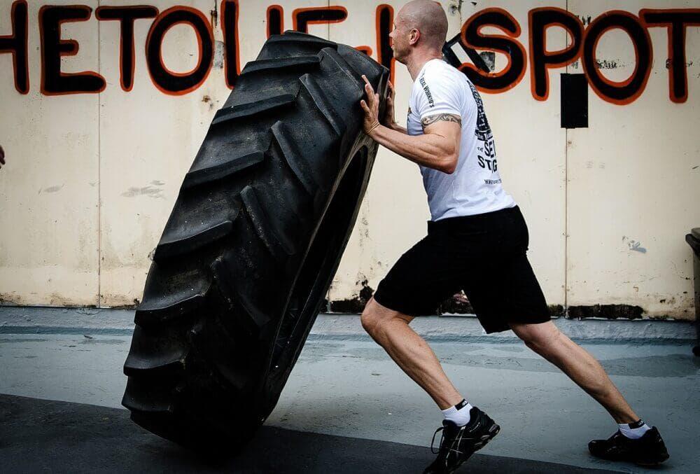 Ejercicio para ganar músculo haciendo Crossfit