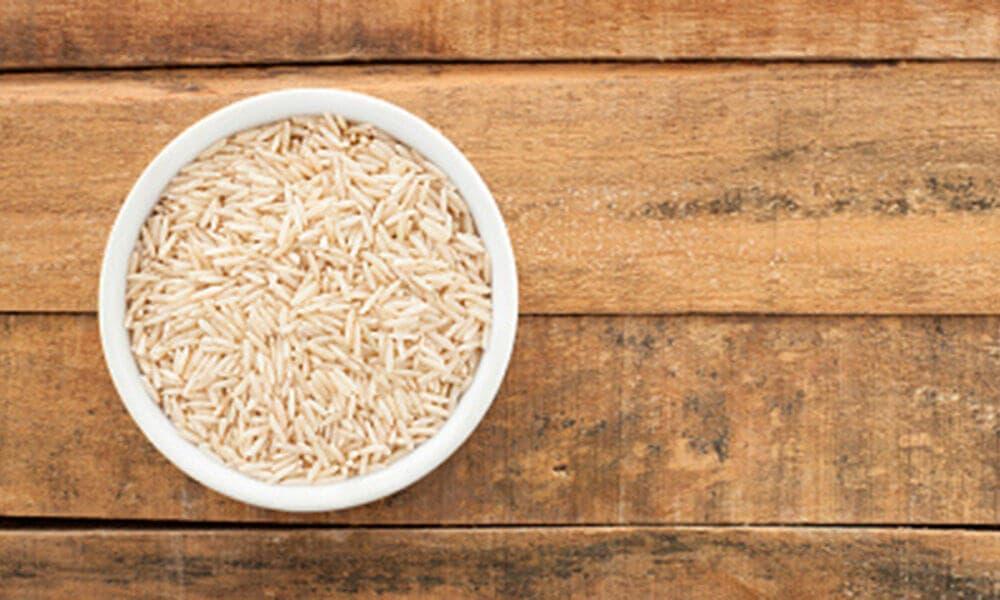 arroz antes del entrenamiento