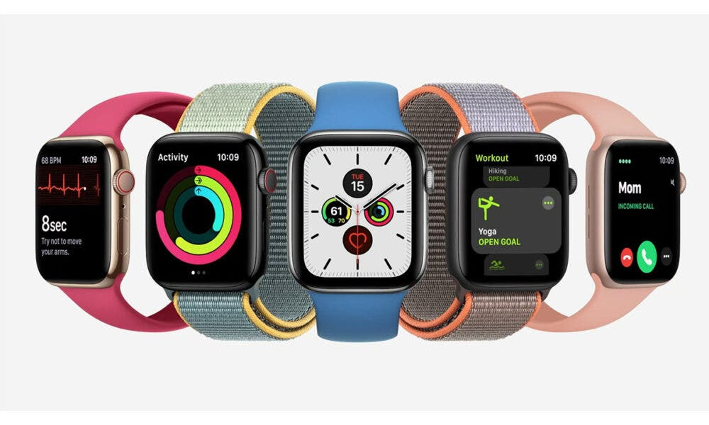 Variedades de colores de los Apple Watch Series 6 y SE