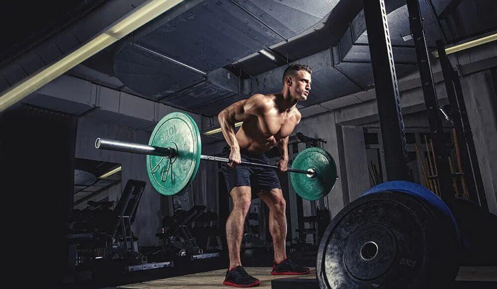 ejercicios con barra para ganar músculo